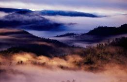 Donaghys Hill, Tasmania, Australia.